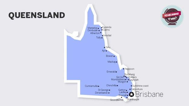 trabajar campo australia queensland