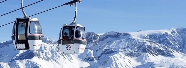 courchevel centro de ski francia