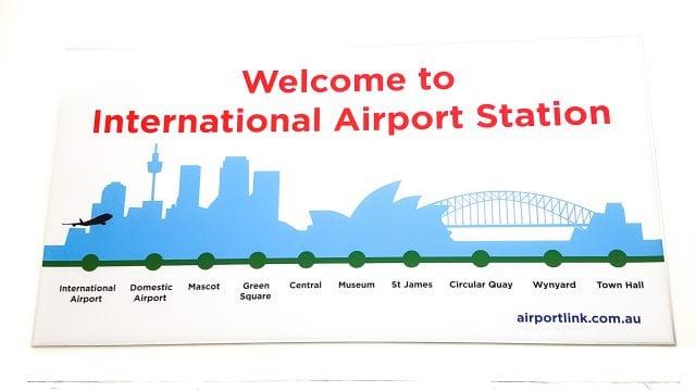 como llegar centro desde aeropuerto sydney australia