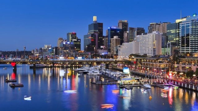darling harbour australia sydney