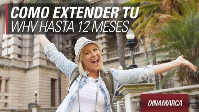 dinamarca extender visa working holiday