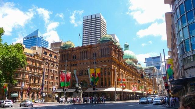 george street sydney australia