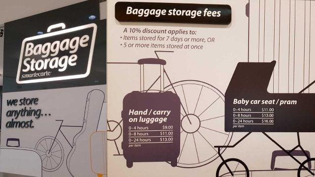guardar equipaje sydney aeropuerto