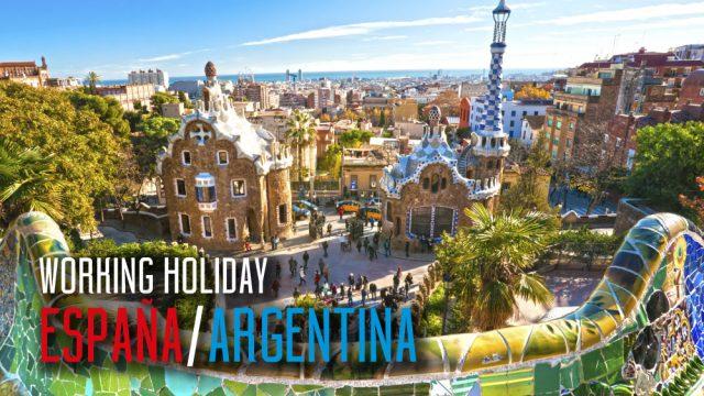 working holiday visa de vacaciones y trabajo espana argentina