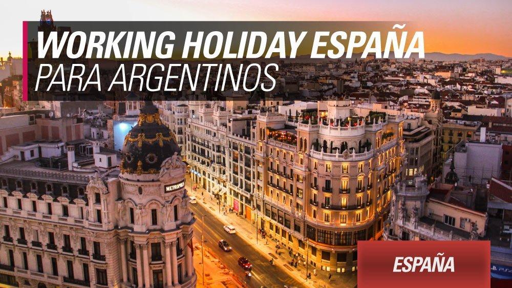 working holiday espana argentinos