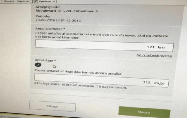 skat calcular impuestos transporte dinamarca working holiday