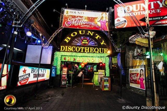 bounty discotheque disco donde salir fiesta bali
