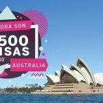 duplicaron visas work and holiday australia argentinos 1500