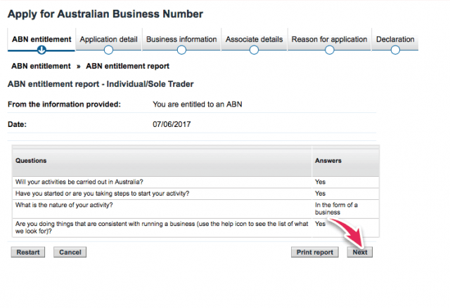 how to get an abn number in australia