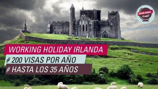 ampliaron visas working holiday irlanda