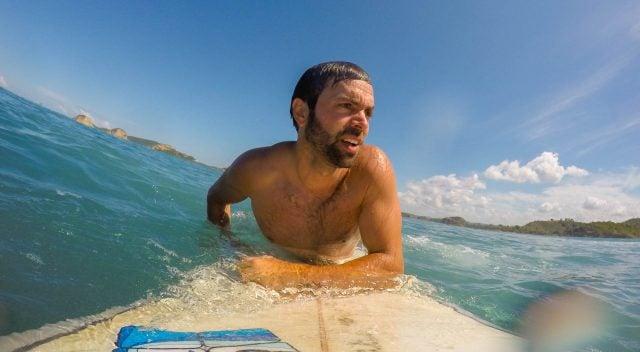 surf en grepuk kuta lombok indonesia
