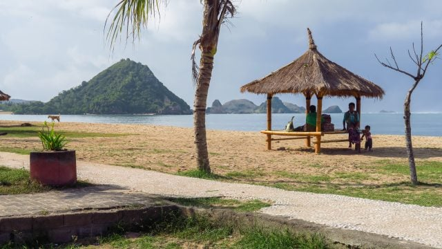 pantai beach playa kuta lombok indonesia