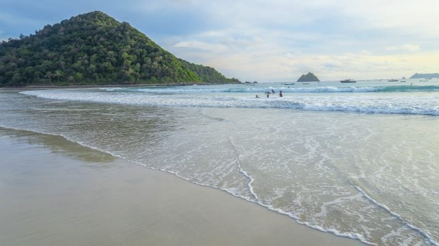 selong belanak playa lombok