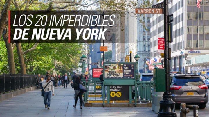 los 20 imperdibles de Nueva York