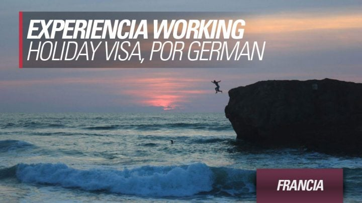 experiencia working holiday Francia