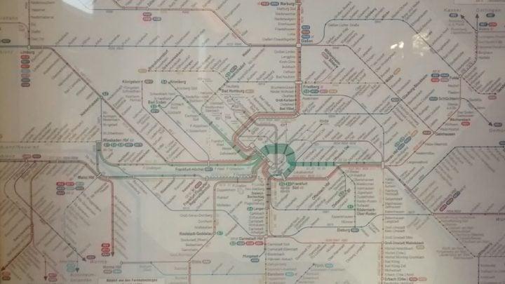 mapa de trenes de berlin