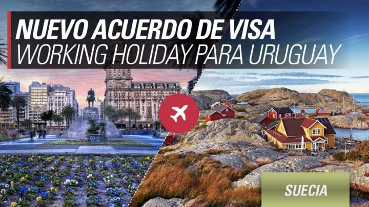nuevo acuerdo working holiday uruguay suecia