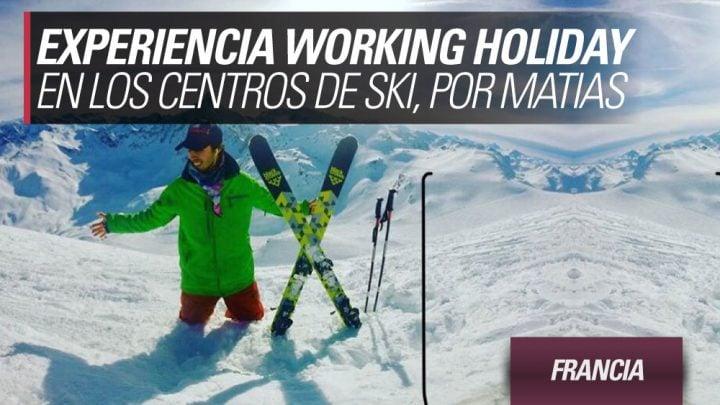 Experiencia working holiday Francia en los centros de ski