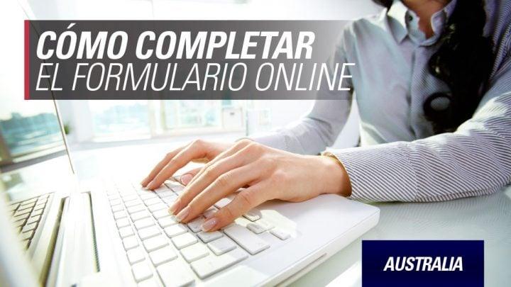 aplicación online Australia