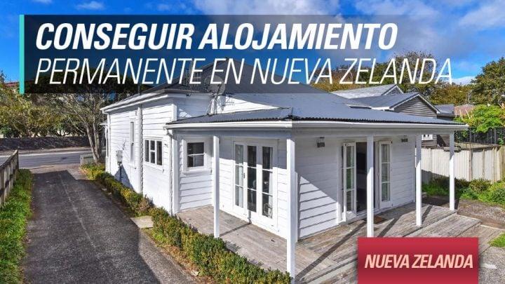 Conseguir alojamiento permanente en Nueva Zelanda