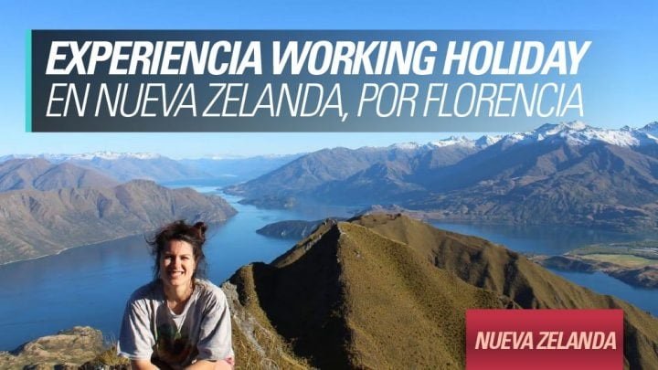 Experiencia Working Holiday en Nueva Zelanda por Florencia