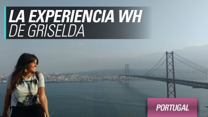 La experiencia working holiday Portugal de Griselda
