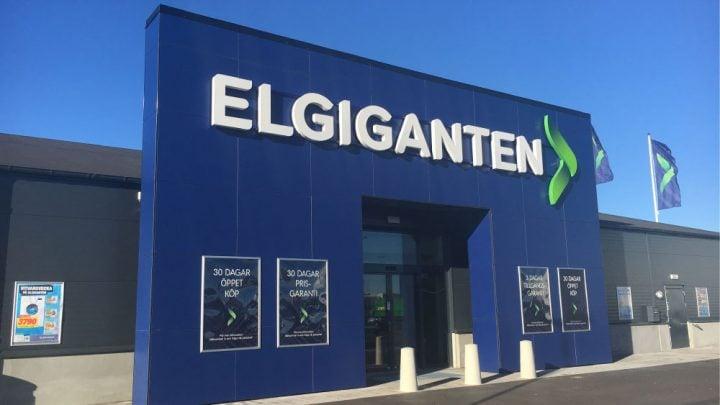 Tienda ElGiganten suecia