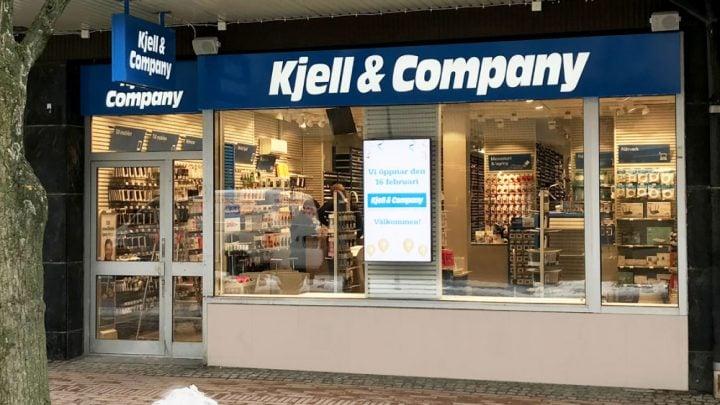 Tienda Kjell Company Suecia