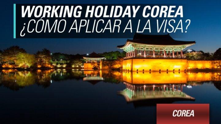 Working holiday corea aplicacion