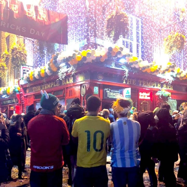 experiencia argentino en dublin