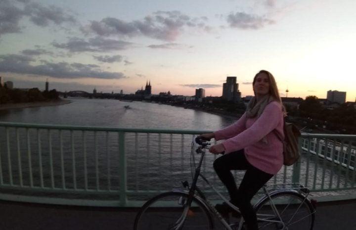 transporte en bicicleta Koln