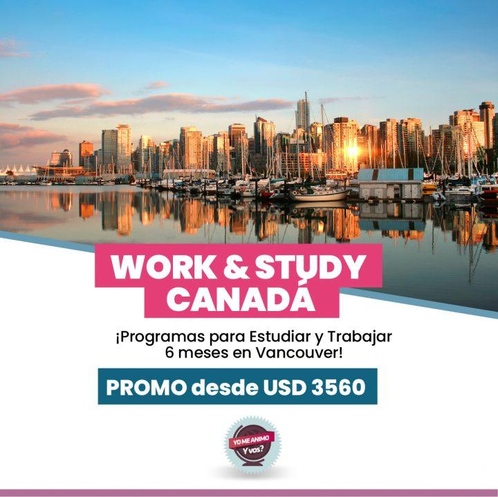 visa work and study canada