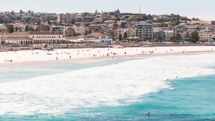 mejores playas de sidney Bondi