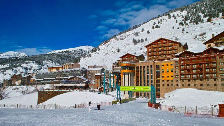 centro de ski andorra