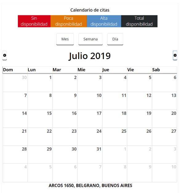 calendario turnos mexico