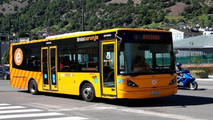 transporte en Andorra
