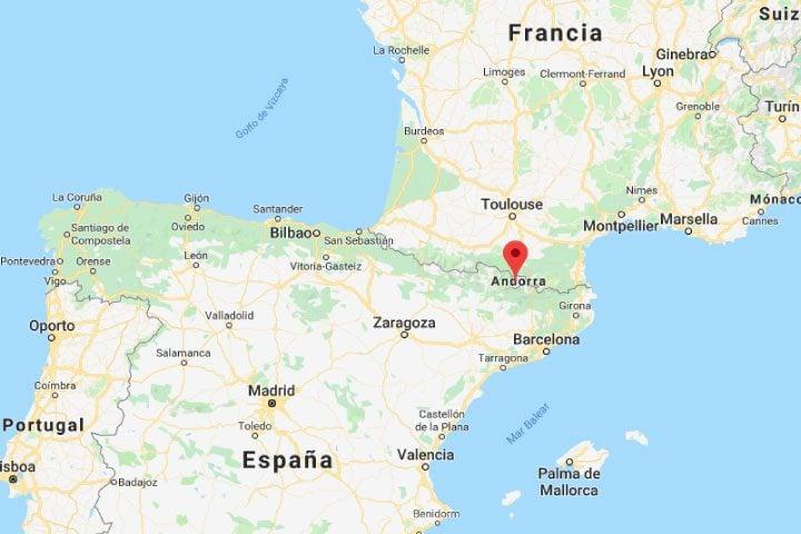 ubicacion andorra