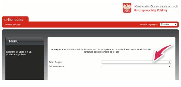 solicitar turno polonia