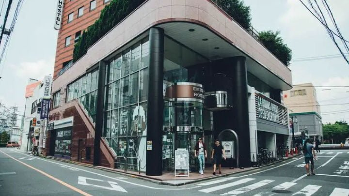 hostel en tokio