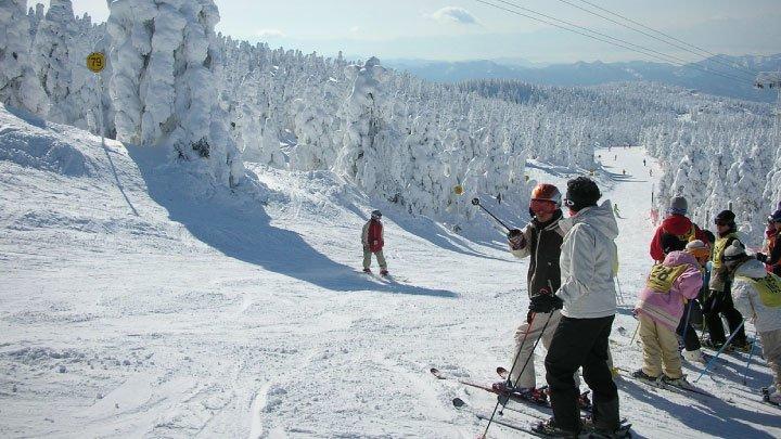 ski en japon