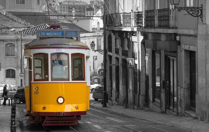 costo de vida en Portugal-transporte