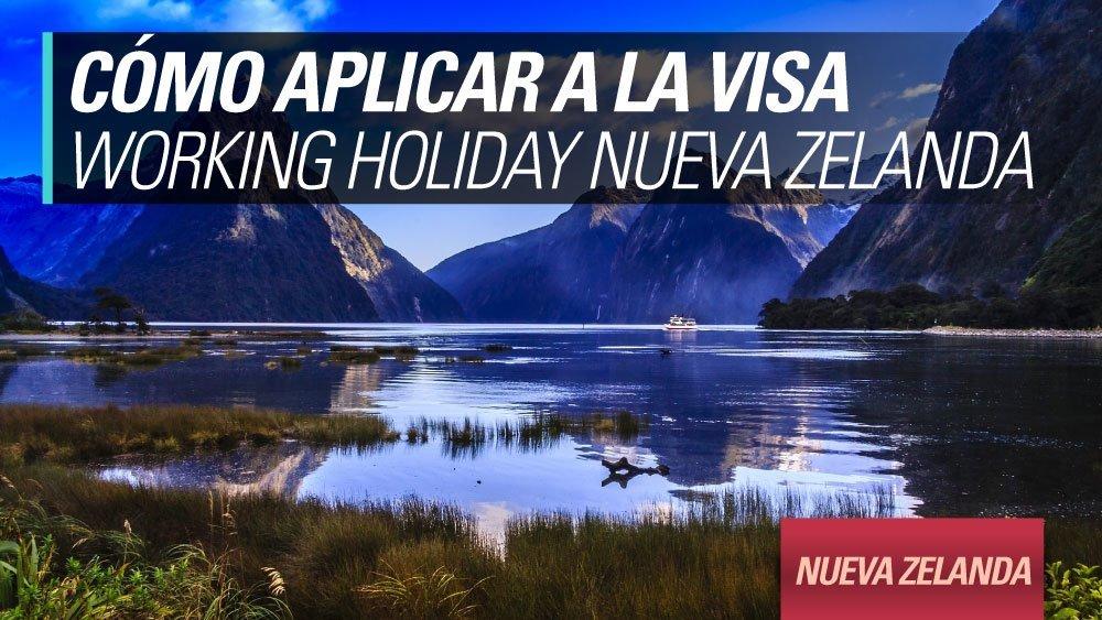 aplicar working holiday nueva zelanda