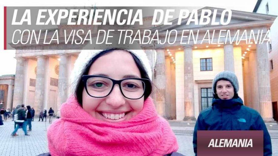 experiencia visa trabajo alemania pablo