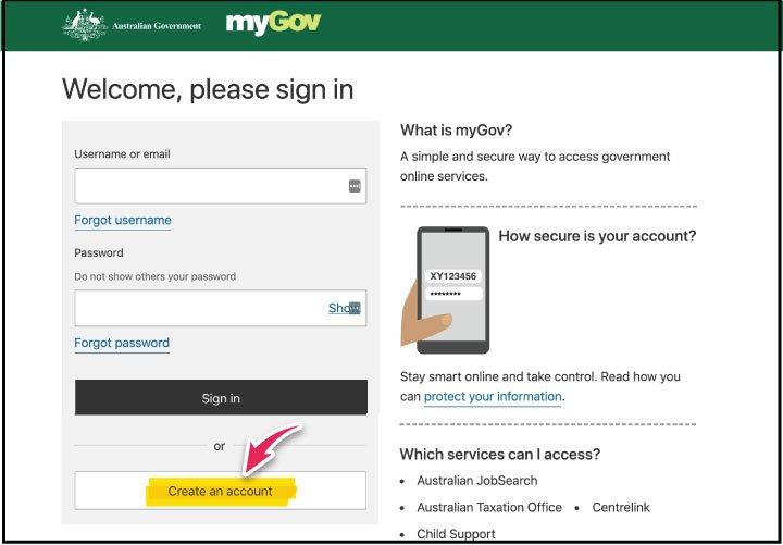 my gov cuenta