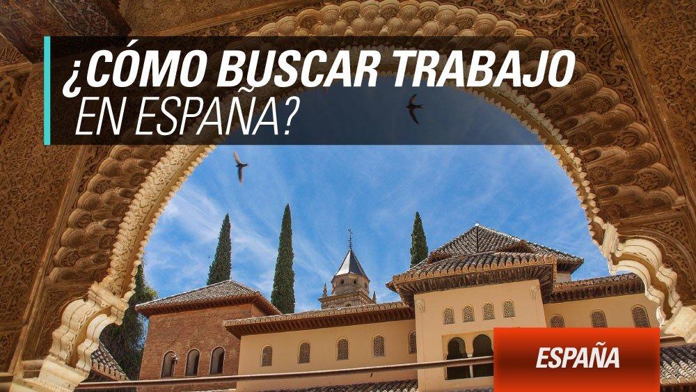 trabajo en espana