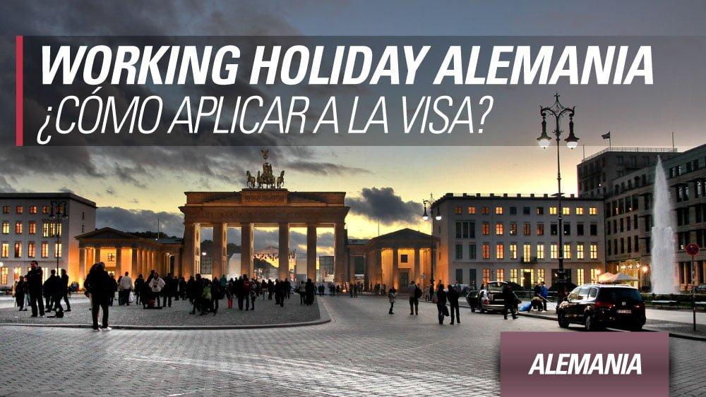 como aplicar a la working holiday alemania