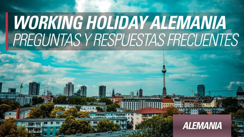 preguntas y respuestas frecuentes working holiday alemania