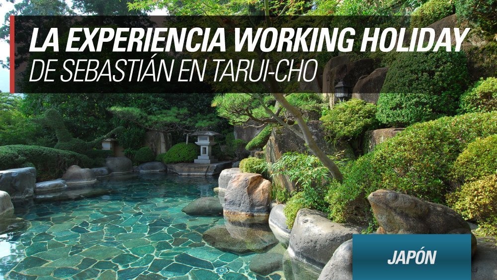 experiencia working holiday japon tarui cho