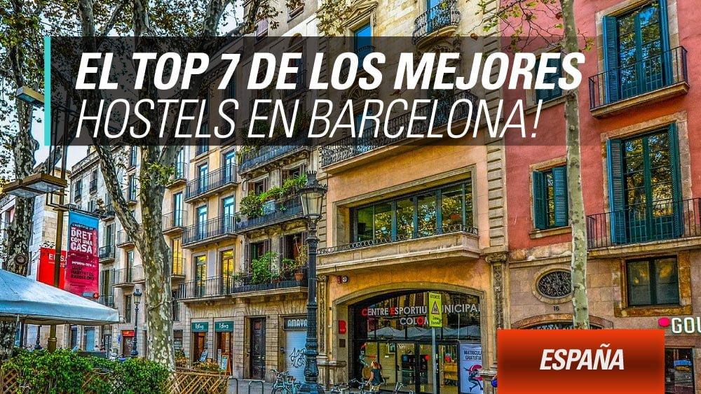 mejores hostels en barcelona