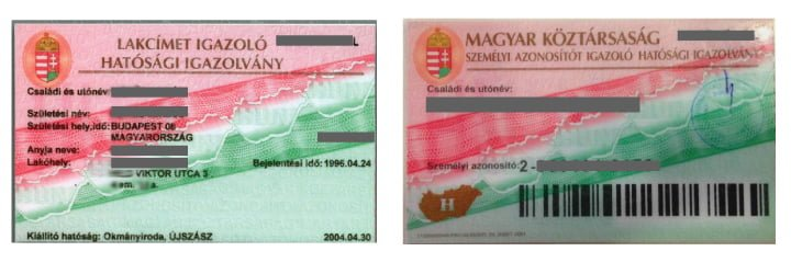pink card tarjeta residencia hungria